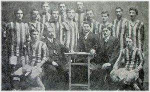 Tým Viktorky Žižkov v roce 1910